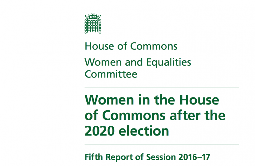 Women in the House report