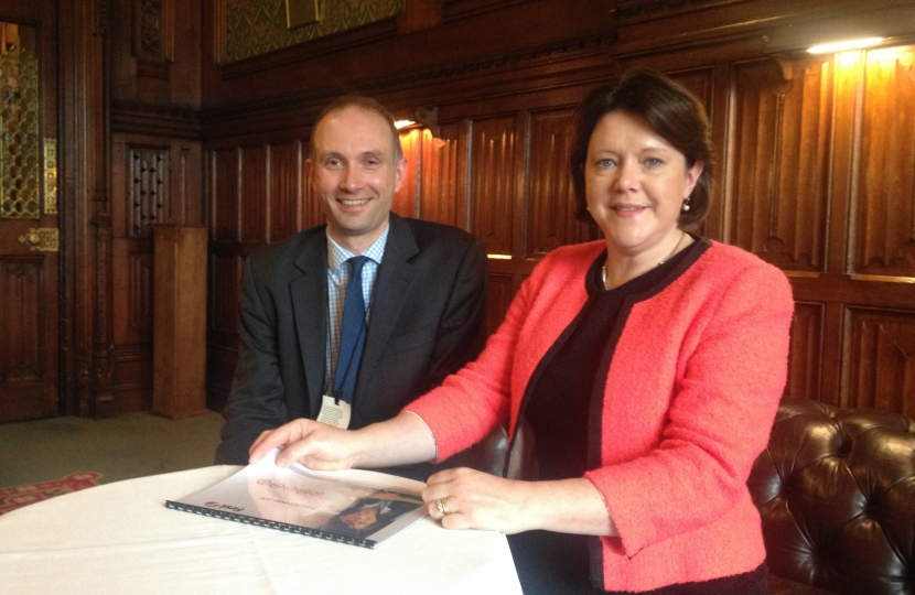 First Group Mark Wilkins and Maria Miller MP